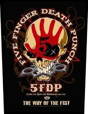 Five Finger Death Punch-way of the Fist schiena ricamate patch BACK