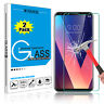 For LG V30 / V35 ThinQ / V20 Premium Tempered Glass Screen Protector Clear Film