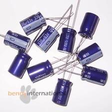 10x 330uF 63V 85°C ELECTROLYTIC CAPACITORS Radial NICHICON - AUS STOCK