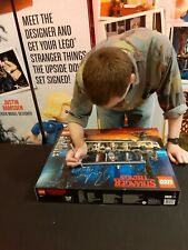 LEGO 75810 STRANGER THINGS The Upside Down *SIGNED BY DESIGNER* + CASTLE BYERS