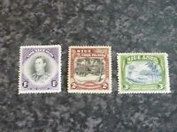 NIUE COOK ISLANDS POSTAGE & REVENUE STAMPS SG75-77 LIGHTLY MOUNTED MINT
