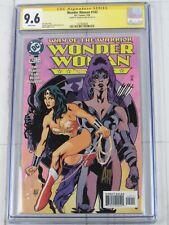 WONDER WOMAN #142 SS CGC 9.6 AUTO ADAM HUGHES COVER ART DC Comics