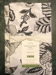 Pottery Barn Caselyn Palampore Organic Sham,Size King, set of two New W$39.50Tag