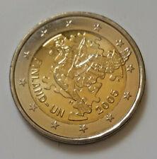 Finlande 2005 pièce de 2 euro commémorative neuve