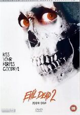 Evil Dead 2 Dead By Dawn Bruce Campbell, Danny Hicks, Sarah Berry NEW UK R2 DVD