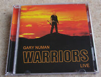 Gary Numan - Warriors Live CD. Unofficial, Collectors, Tubeway Army