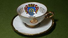Vintage Bareuther Porcelain Waldsassen Bavaria Germany - Cappel Cup and Saucer