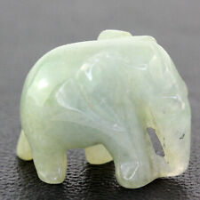 47.55 ct Natural Jadeite A Jade Elephant carving ( Untreated ) T3103