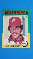 1975 TOPPS BASEBALL #70 MIKE SCHMIDT PHILLIES EXMT