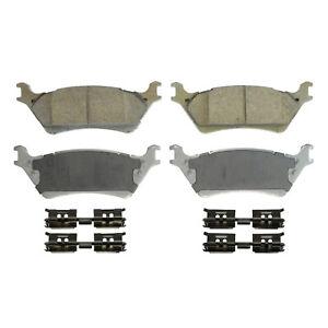 Disc Brake Pad Set-ThermoQuiet Disc Brake Pad Rear Wagner QC1602