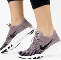 Nike Women's TR 2 Flyknit Purple Mauve Sneaker Tennis Shoes, Size 7.5