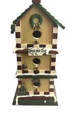 World Bazaars inc Bird House Bless Our Nest Christmas