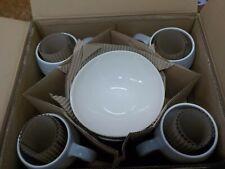 Mikasa® Swirl Ombre 16-Piece Dinnerware Set in Grey