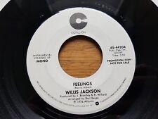 "WILLIS JACKSON - Feelings 1976 MONO / STEREO PROMO 7"" Soul Jazz Funk (EX)"
