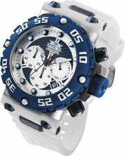 Invicta Men's Subaqua 50mm Polyurethane Band Steel Case Quartz Watch 25040