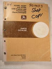 John Deere R68462 4239D T A Engines Parts Catalog Manual Pc-3153