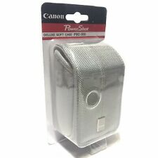 Canon PowerShot PSC-500 Deluxe Soft Camera Case Bag Grey