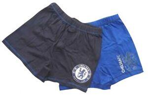 Chelsea Football Club Boys 2 Pack Boxer Shorts Age 5-6