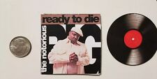 Miniature record  1/6  Notorious B.I.G. Ready Die Rapper  Hip Hop action figure