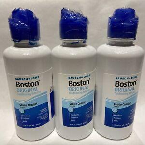 (3) BOSTON Original Gentle Comfort Conditioning Solution Exp 2022