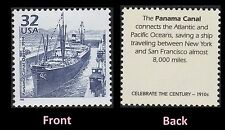 US 3183f Celebrate the Century 1910s Panama Canal 32c single MNH 1998