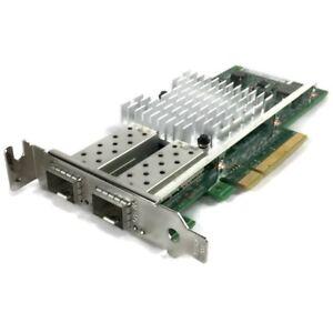 Dell 942V6 Intel X520-DA2 10Gb Dual Port Server Network Adapter Card *No SFPs