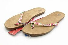 NEW Tags MOSSIMO Odele Floral Sandals Womens 11 flip flops thongs slip on Target