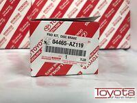 Toyota Highlander 2008-2015 Front Ceramic Brake Pads Genuine 04465-AZ119
