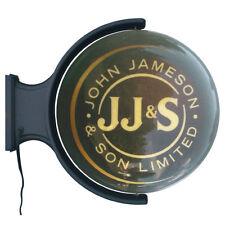 Jameson Whiskey Rotating Pub Light