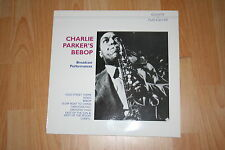 "Charlie Parker's Bebop -Broadcast Performances- LP 12"" sehr rar"