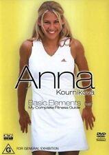 Anna Kournikova - Basic Elements (DVD, 2003)
