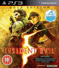 Resident Evil 5: Gold Edition PS3 Game *in Excellent Condition*