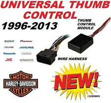 HARLEY TOURING THUMB CONTROL INTERFACE ADAPTER MODULE HARNESS INSTALLATION KIT