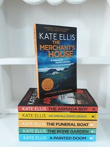 Collection of 6 x Paperback Books Crime Thriller Kate Ellis - The Merchant's NEW