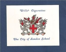 City of London School Cls Old Citizens Coat of Arms 1934 original print card