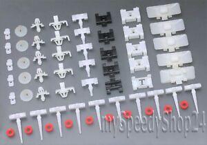 60 Stück Clips Klammern Beplankung für Mercedes W124 C124 Coupe A124 Cabrio