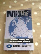 Pelorus Watercraft 2001, Owners Safety And Maintenance Manual Polaris