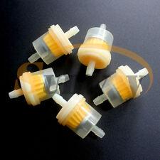 5 Stück Benzinfilter Kraftstofffilter für Roller Motorrad Quad 5mm / 6mm