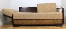 Sofa Vintage Knoll Ära Daybed 60er 70er Mid Century Couch verstellbar
