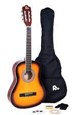 Rio 3/4 Junior Beginner Classical Acoustic Guitar Pack Package Outfit Sunburst