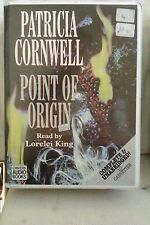 Point of Origin by Patricia Cornwell: Unabridged Cassette Audiobook (VV5)
