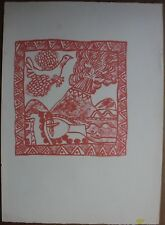 Guillaume CORNEILLE - Lithographie lithograph COBRA movement
