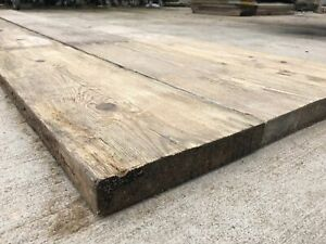 Reclaimed Rustic Norwegian Spruce Bespoke Timber Panelling Cladding 1FT - 12FT