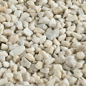 White Spar Decorative Chipping Stone Gravel Aggregate 20kg Collection Only