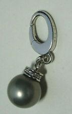 Original Jette Charm 925 Silber Clip  Anhänger Perle 19