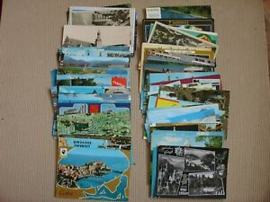 LOT OF 100   OLD   POSTCARDS  EUROPE