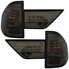 FEUX ARRIERE LED NOIR FUME SMOKE CRISTAL BMW X3 E83 DE 01/2004 A 09/2006