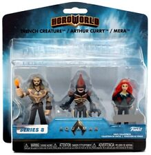 Series 8 Trench Creature, Arthur Curry & Mera 4-Inch Vinyl Figure 3-Pack