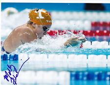 Molly Hannis Signed 8.5x11 Inch Photo 2016 Rio Olympics Tennessee Proof COA