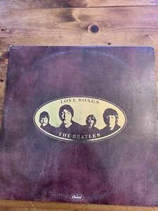 The Beatles Love Songs 1977 Rock LP Capitol Records